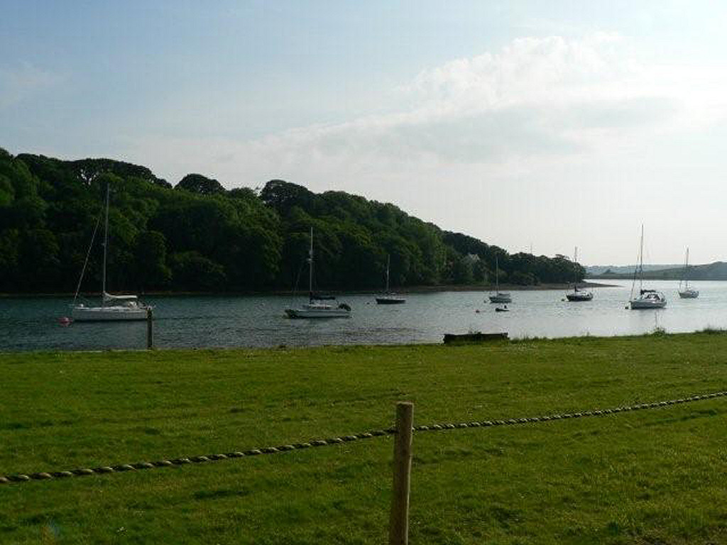 View of Daugleddau Estuary from Lawrenny Quay - 6.7 miles away